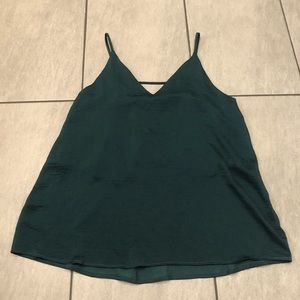 Audrey 3+1 Tank Top Camisole Emerald Green Sz Med
